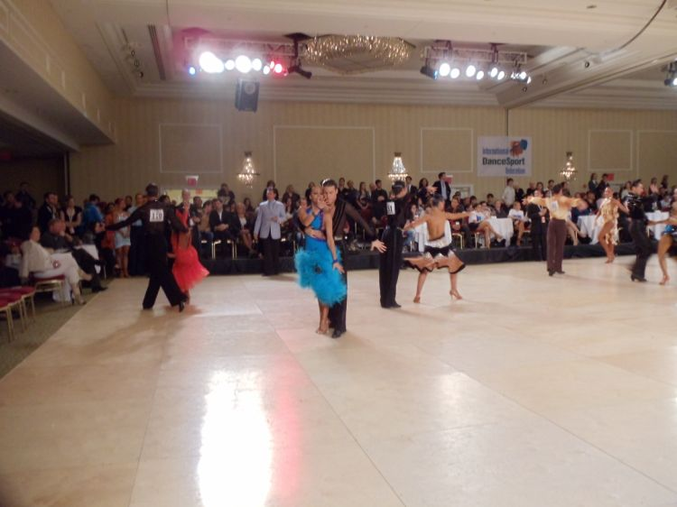 Ballroom Dancing Competition IDSF Latin 2010 World Championships